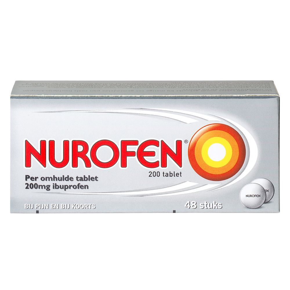 Image of Nurofen Pijnstiller 200 mg 48 tabletten