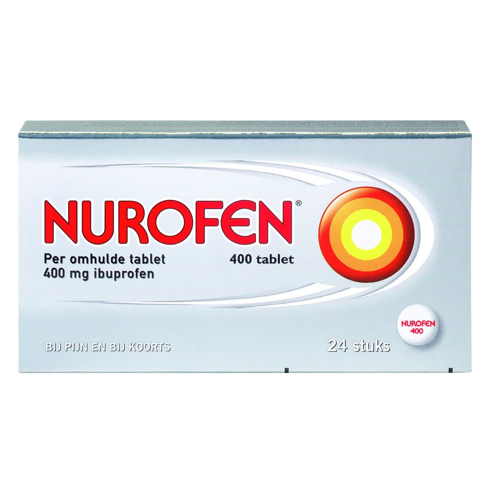 Image of Nurofen Pijnstiller 400 mg 24 tabletten